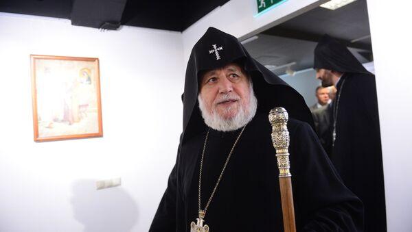 Верховный патриарх и католикос всех армян Гарегин II . Архивное фото