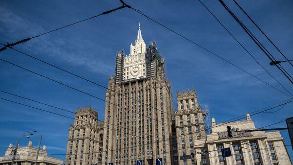 Здание Министерство иностранных дел России. Архивное фото