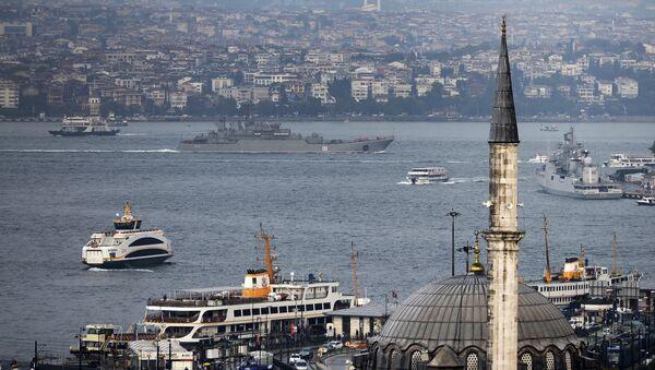 Пролив Босфор, Турция. Архивное фото