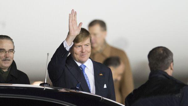 Король Нидерландов Виллем-Александр. Архивное фото