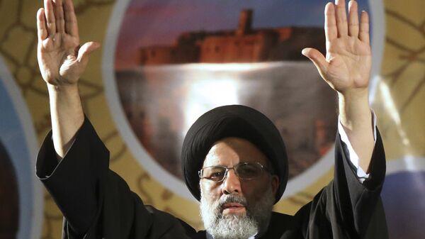 Кандидат в президенты Ирана Ибрахим Раиси в Тегеране. Архивное фото