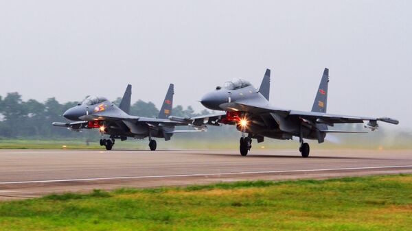Самолеты Су-30 ВВС Китая