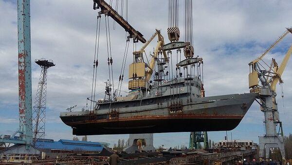 Морское водолазное судно U700 Нетешин ВМС Украины