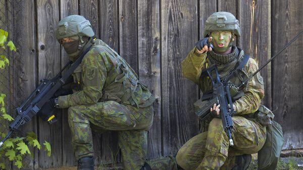 Военные учения НАТО в Эстонии