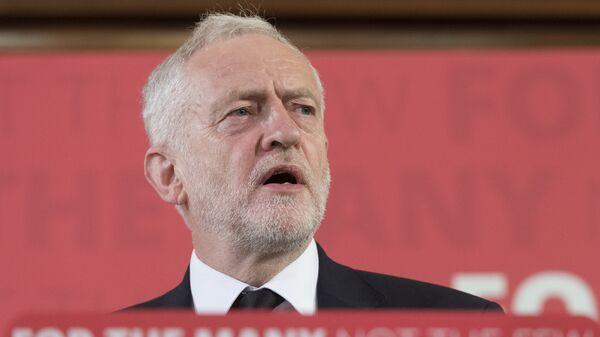 Лидер лейбористской партии Великобритании Джереми Корбин