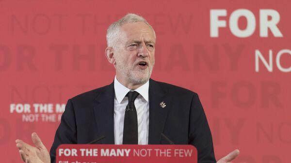 Лидер лейбористской партии Великобритании Джереми Корбин. Архивное фото