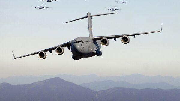 Американские военно-транспортные самолеты C-17A Globemaster III