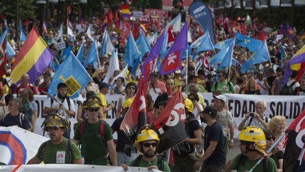 Традиционный ежегодный Марш за достоинство в Мадриде