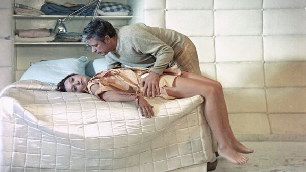 Кадр из фильма Солярис. 1972 год