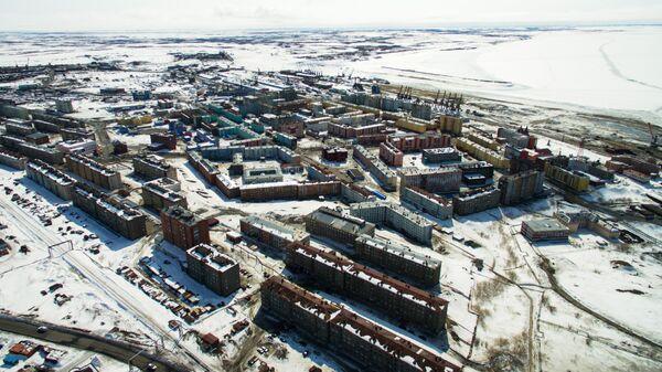 Город-порт Дудинка