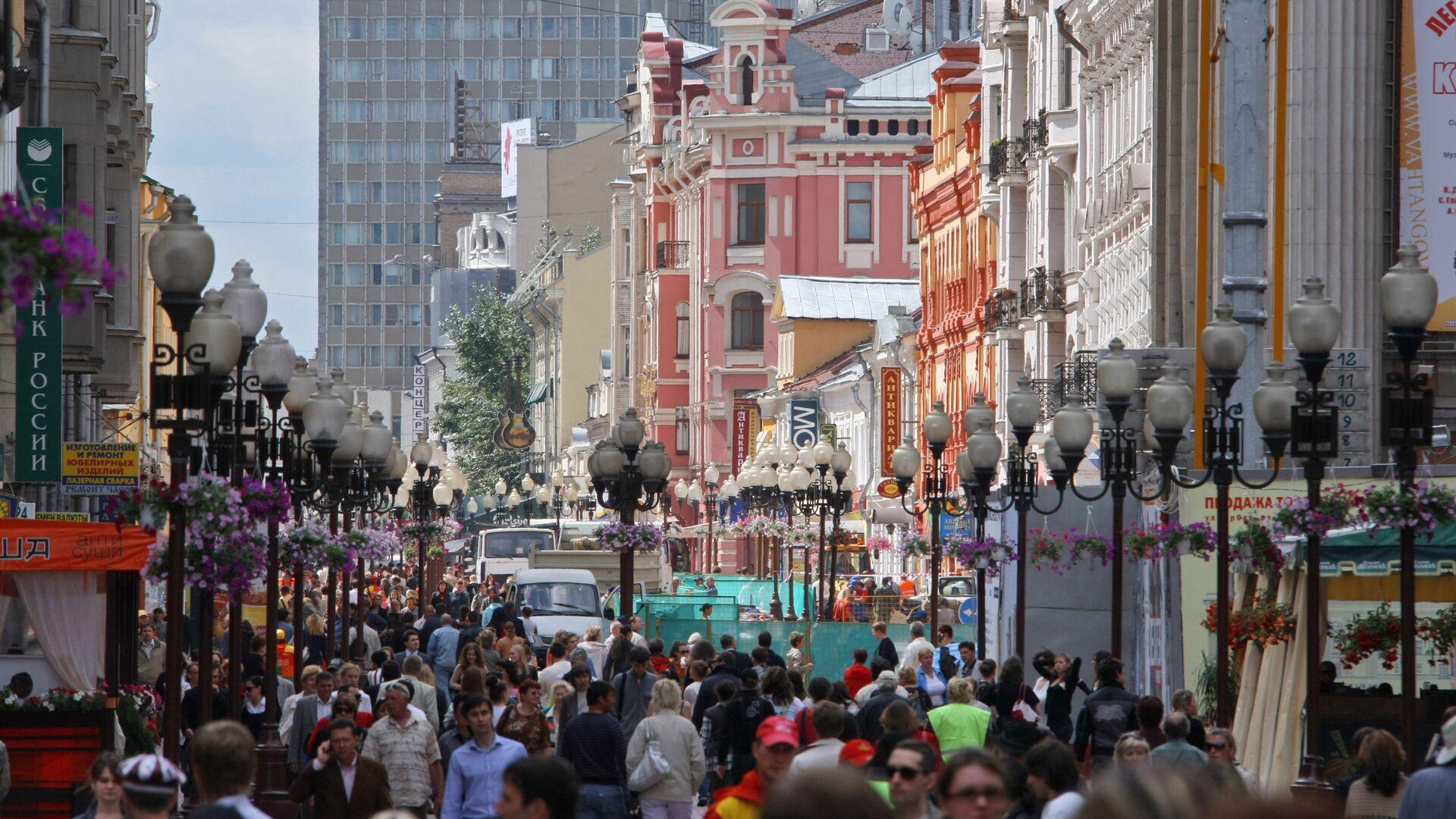 Улица Старый Арбат - РИА Новости, 1920, 15.09.2021