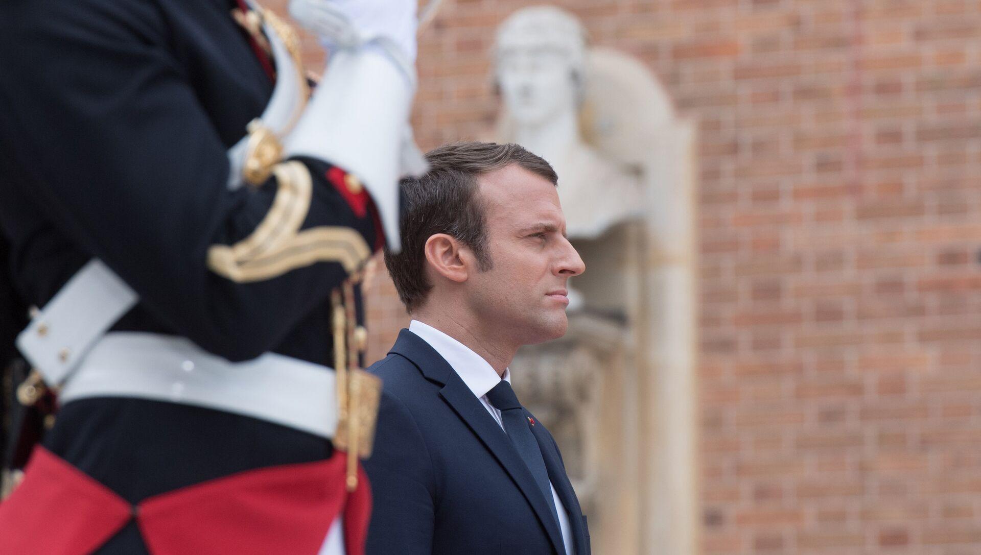 Президент Франции Эммануэль Макрон. Архивное фото - РИА Новости, 1920, 30.05.2017
