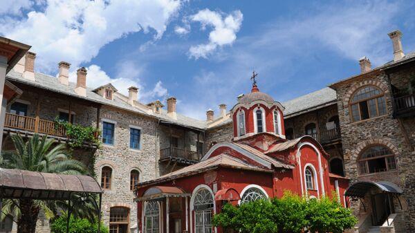 Иверский монастырь на горе Афон
