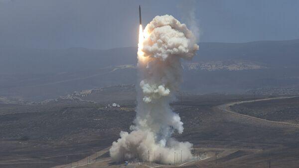 Испытания наземной системы противоракетной обороны США