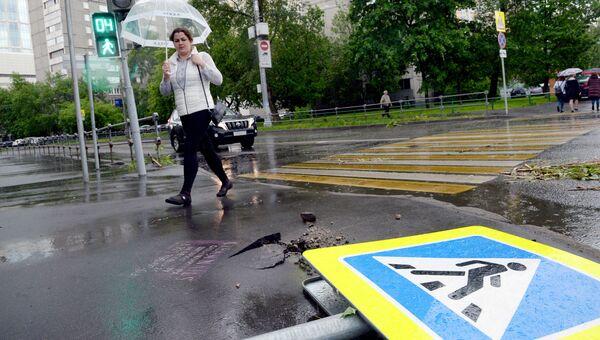 Ураган в Москве. Архивное фото