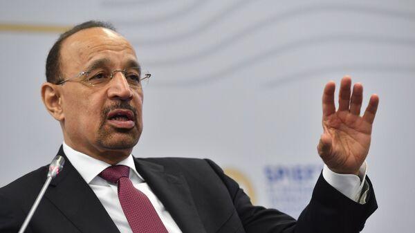 Министр энергетики Королевства Саудовская Аравия Халид аль-Фалих на Санкт-Петербургском международном экономическом форуме 2017