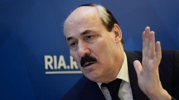 Бывший глава Республики Дагестан Рамазан Абдулатипов