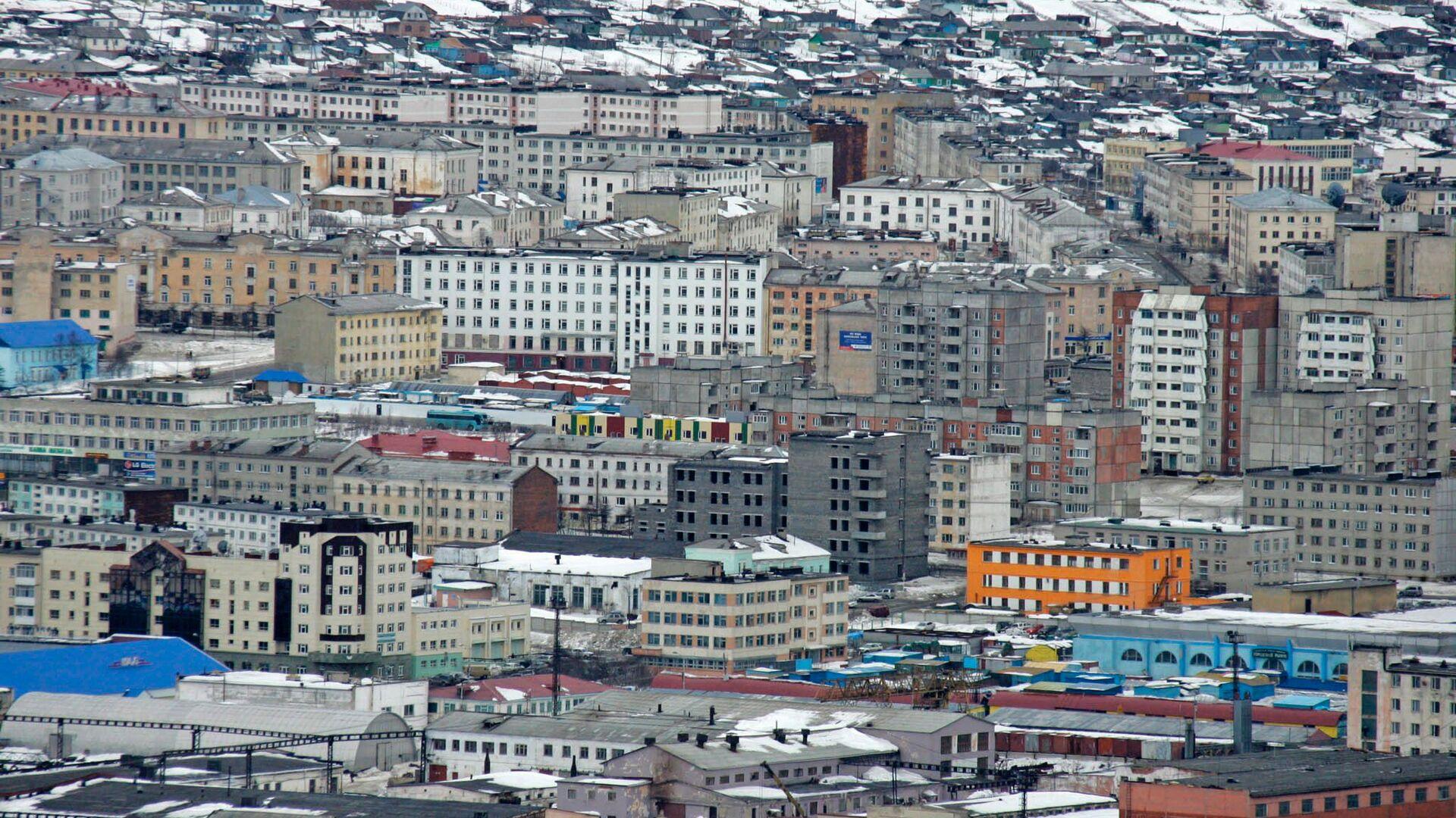 Панорама города Магадана. Архивное фото - РИА Новости, 1920, 21.09.2020
