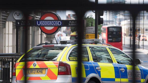 Полицейский автомобиль в Лондоне