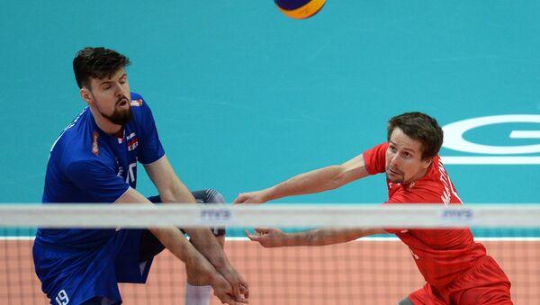 Волейбол. Мировая лига. Мужчины. Матч Россия - Болгария