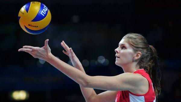Игрок сборной России Ирина Фетисова. Архивное фото