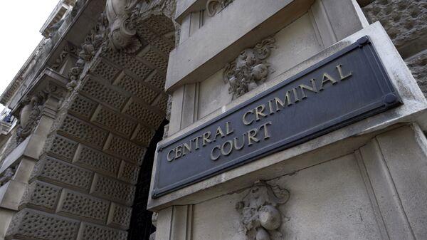Здание центрального уголовного суда Англии на улице Олд-Бейли в Лондоне. Архивное фото