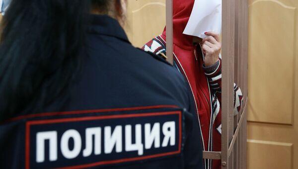 Вице-губернатор Владимирской области Елена Мазанько в Бассманном суде Москвы. 6 июня 2017