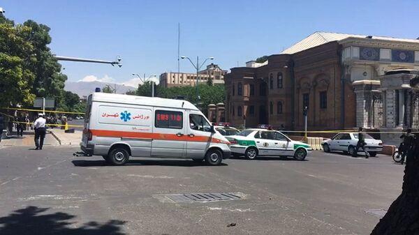 Автомобили скорой помощи в Иране. Архивное фото