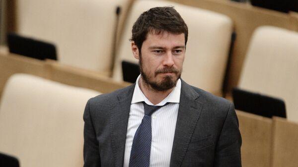 Марат Сафин на пленарном заседании Государственной Думы РФ