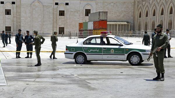 Иранские полицейские