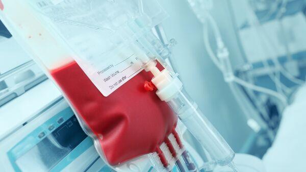 Донорская кровь. Архивное фото