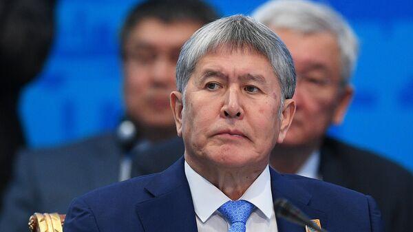 Экс-президент Киргизии Алмазбек Атамбаев. Архивное фото