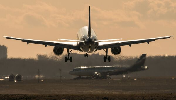 Самолет авиакомпании Донавиа. Архивное фото
