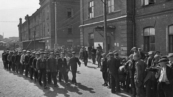 Мобилизация. Новобранцы. Москва, 23 июня 1941 года