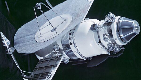 Макет автоматической межпланетной станции Венера-4