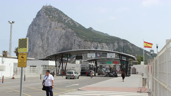 Граница Гибралтара с Испанией