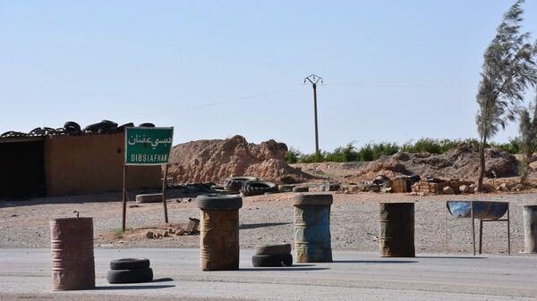 Пригород сирийского города Ракка. Архивное фото