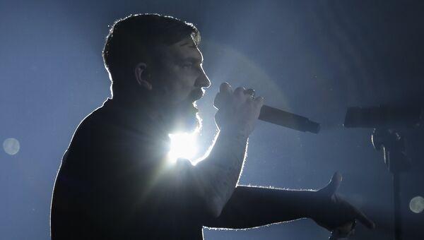 Рэп-исполнитель Василий  Вакуленко (Баста). Архивное фото
