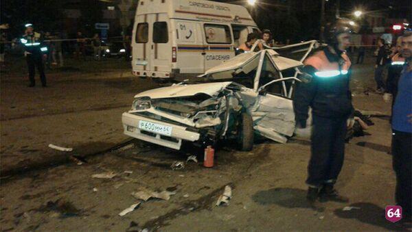 В массовом ДТП в Саратове погибли 2 человека