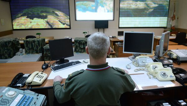 Командный пункт многофункциональной радиолокационной станции