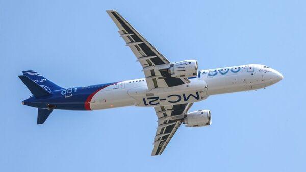 Самолет МС-21-300. Архивное фото