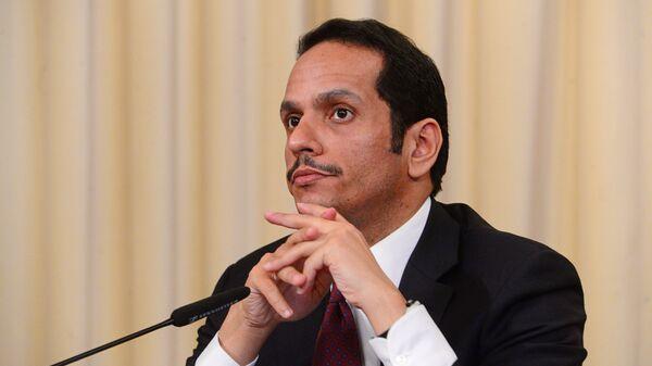 Министр иностранных дел Катара Мухаммед Аль Тани