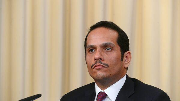 Министр иностранных дел Катара Мухаммед Аль Тани. Архивное фото