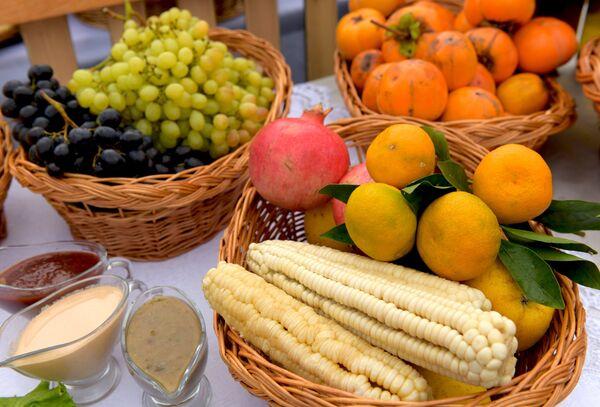 Праздник урожая Лыхнашта в Абхазии