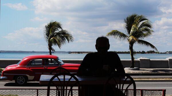 Набережная кубинского города Сьенфуэгос