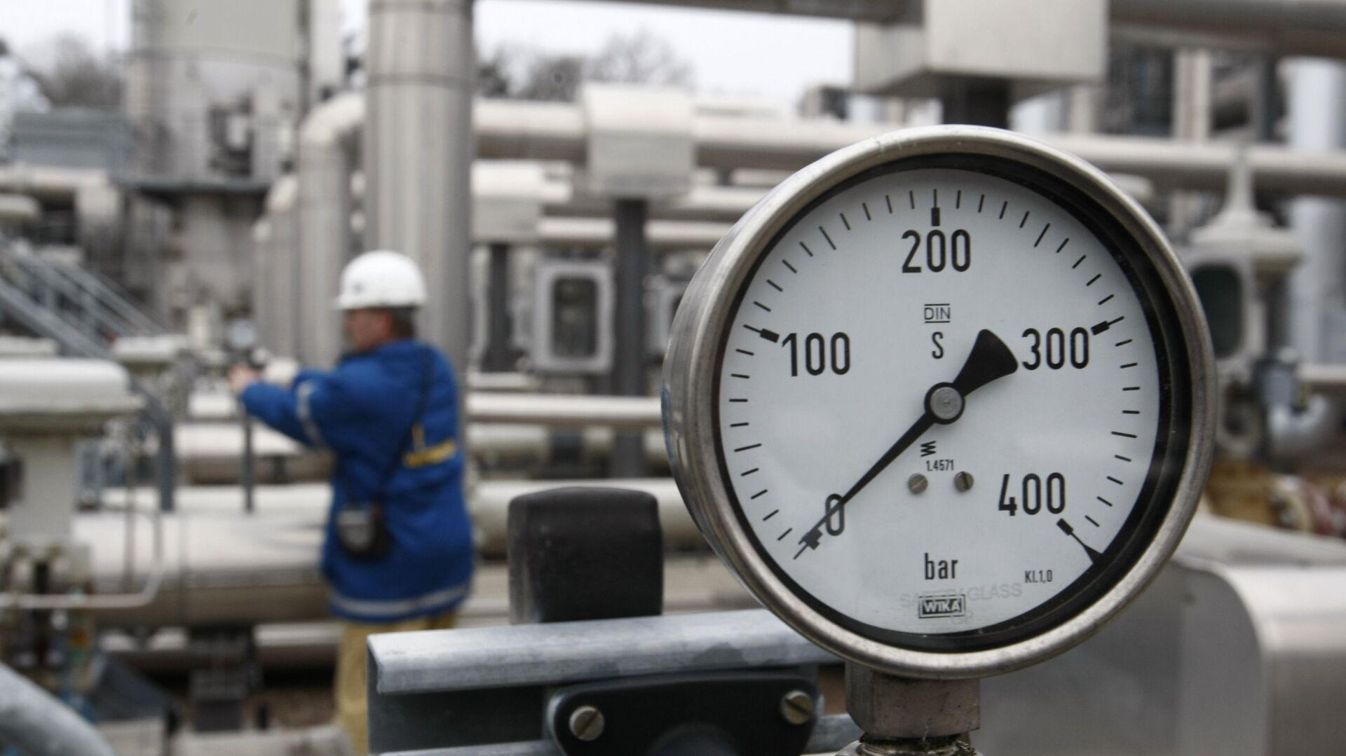 Газовое хранилище в Редене, Германия - РИА Новости, 1920, 05.10.2021