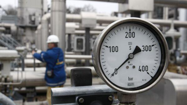 Газовое хранилище в Редене, Германия