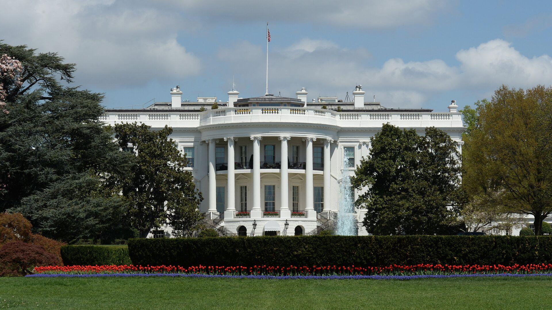 Здание Белого дома в Вашингтоне, США - РИА Новости, 1920, 20.06.2021