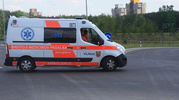 Автомобиль скорой помощи Литвы