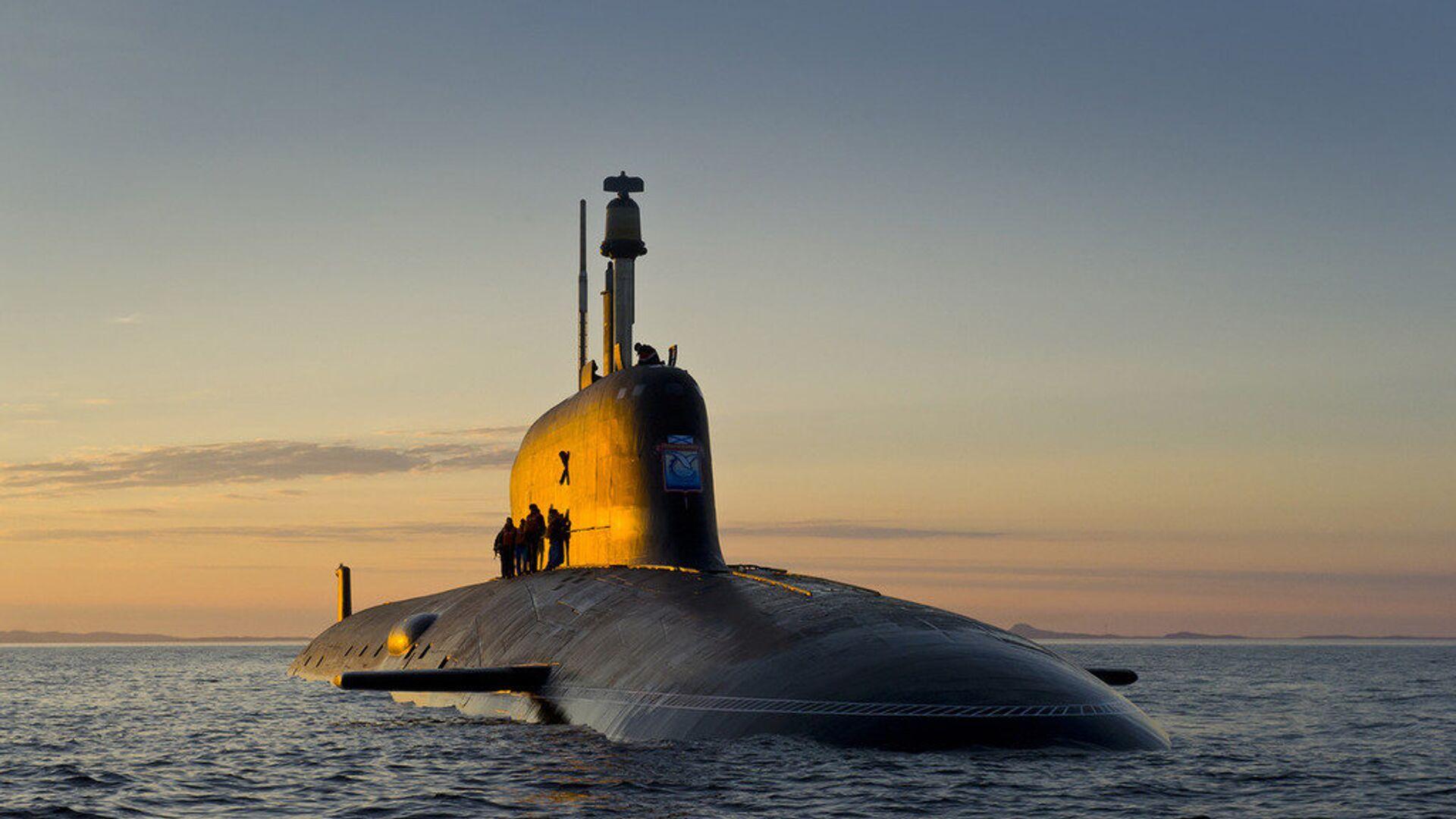 Подводная лодка проекта Ясень-М - РИА Новости, 1920, 26.07.2021